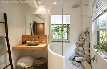 kamyczki w łazience