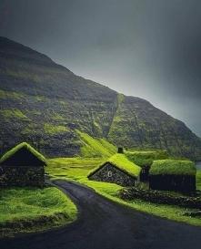 Zielona wioska - Wyspy owcze