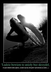 Nawet jak ich brakuje to nie znaczy, że ich nie ma. Zbuntowany anioł nawet je posiada.