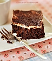 Brownie z czekoladą i likie...