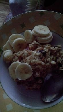Owsianka z bananem na fit ś...