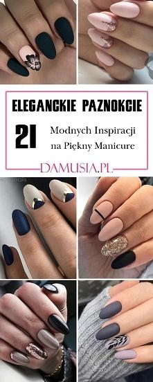Eleganckie Paznokcie: 21 Modnych Inspiracji na Piękny Manicure