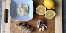 Domowy syrop z cytryny, czo...