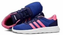 Buty Adidas LITE RACER K niebiesko-różowe - TYLKO 139,99