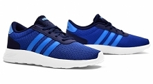 Buty Adidas LITE RACER K niebiesko-granatowe - TYLKO 139,99