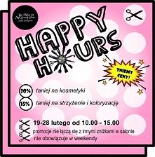 Happy Hours Fryzjer w Poznaniu - o tej nazwie powstało wydarzenie ze zniżkami na strzyżenia i koloryzacje oraz zakup profesjonalnych kosmetyków do włosów od Davines!  Szukajcie ...