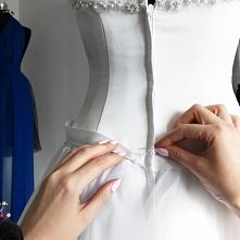 Szycie sukni ślubnej <3 ...