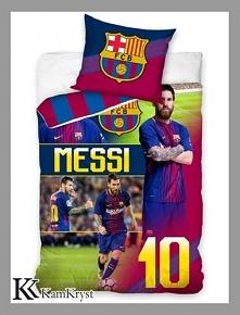 Nowa kolekcja pościeli z Messim FC Barcelona - już wkrótce dostępna na stronach sklepu.
