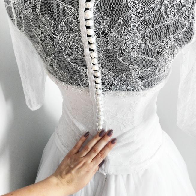 Realizacja indywidualnego projektu sukni ślubnej <3 Szycie na miarę w SOPSI / Częstochowa