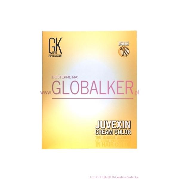 Global Keratin paleta kolorów GK Hair Juvexin Cream Color palette
