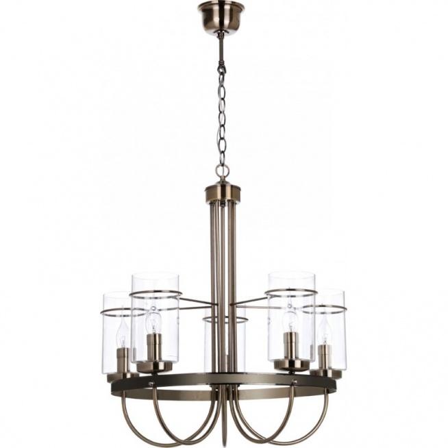 Oświetleniowa lampa wisząca Monte 5880511 producenta Britop Lighting to ciekawy projekt w pomieszanym stylu klasycznym z nutką nowoczesności. Żyrandol posiada trzy źródła światła, a wykonany został ze szkła i metalu. Jest to piękne połączenie stylu klasycznego z nowoczesnym. Lampa wisząca Monte to jedna z lamp oświetleniowych z kolekcji, która wprowadzi oryginalny design i da charakter we wnętrzu. Dostępna w sklepie Dekorplanet.pl