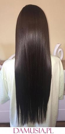 Keratynowe Prostowanie Włosów w Domu Efekt Przed i Po