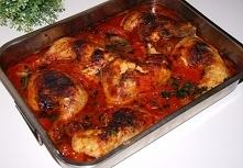 Udka pieczone w pomidorach