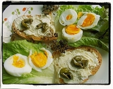 Kanapka jajeczna na ostro -...