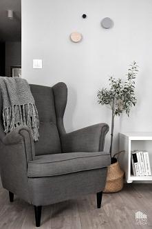 "Projekt salonu ""COLORS OF GREY"" by Yumi Design"