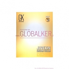 Global Keratin paleta kolorów GK Hair Juvexin Cream Color palette