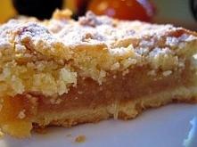 Składniki na szarlotka krucha najlepsza na swiecie Ciasto: 4 szklanki maki lyzeczka proszku do pieczenia szklanka cukru pudru 1 1/2 kostki masla (kostka tutaj - 250g) 6 duzych z...