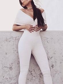 Crisscross Bandage Double V Neck Skinny Jumpsuit  Rozmiar: S, M, L, XL Kolor:...