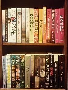 Mała aktualizacja moich książek, niestety z powodu braku miejsca poprzednie p...