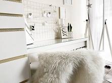 Moja toaletka. Więcej zdjęć na blogu.