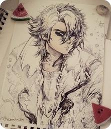 #bleaach #espada #arthelp #animeboy #creative #cold#bankai #shounenjump #shounenmanga#polskierysowanie #heroes #nannga#magic#bestgameever #traditionalart #doodles #polishart #ry...