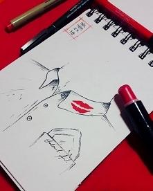 Red Lips :)  Zapraszam na moja stronę na facebooku Bobowski ART- Rysunki na z...
