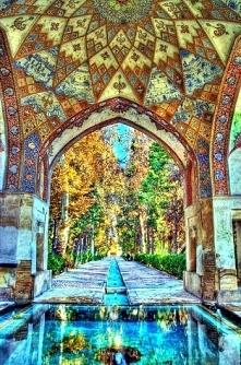Ogrody Kashan Iran