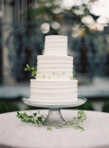 simple 3 tier wedding cakes