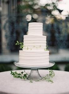 simple 3 tier wedding cakes