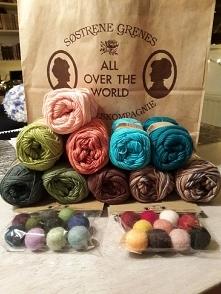 włóczki 100% cotton