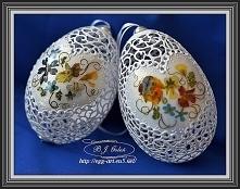 Ażurowe pisanki -Egg art- B...