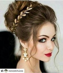 penteados de noiva preso