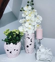 storczyk wazon osłonka wnętrza dodatki