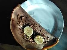 Naleśniki czekoladowe z bit...