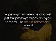 Ty mój samotniku ♥♥♥ , albo...