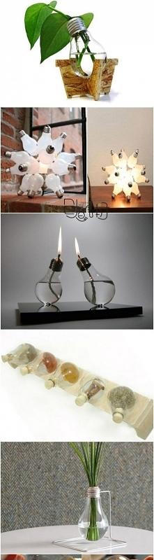 Co można zrobić ze spalonej żarówki