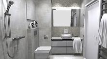 Monolityczna łazienka