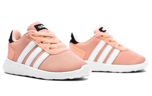 bd8f7ce03089a Buty Dziecięce Adidas LITE RACER INF pudrowo różowe na Dziecięce ...