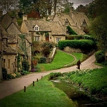 Bibury, najpiękniejsza wieś w Anglii