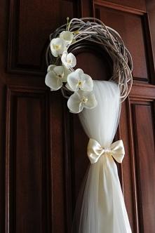 świetna ozdoba na ślubną dekorację.