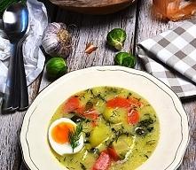 Zupa koperkowa z brukselką