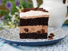 Rodzynkowo – czekoladowe marzenie  25 porcje 30min   Blaszka o wymiarach 25x4...