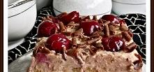 Ciasto cukierkowo - wiśniowa fantazja Zewy  masa mleko1l biszkopt jajka6szt...