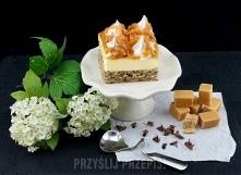 Ciasto bezowa krówka
