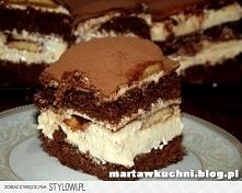 Ciasto Latte Macchiato Bisz...