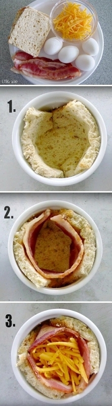 Muffinki śniadaniowe zapiek...