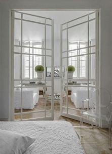 marzą mi się takie drzwi do salonu! ♥