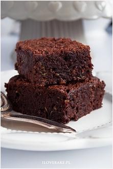 Brownie z cukinii