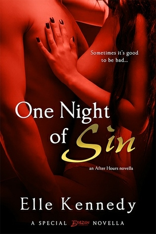 """""""One Night of Sin"""" Czasami dobrze jest być złym…  Jeśli chodzi o seks, dobra dziewczynka Skyler Thompson zawsze grała bezpiecznie, przedkładając stabilność i stateczność ponad dzikość i dreszczyk emocji. Nie miewała jednonocnych wyskoków, ale jedno spojrzenie na grzesznie seksownego Gage'a Holta i była gotowa ponownie to rozważyć. Sprawił, że raz w życiu zachciała być zła i była gotowa wziąć to, czego pragnie.  Niebezpieczeństwo podąża za byłym zawodnikiem MMA Gagem Holtem jak cień. Pomimo jego sukcesów jako współwłaściciela Sin, ekskluzywnego klubu w Bostonie, Gage nie może zaryzykować związania się z kobietą, zwłaszcza tak słodką jak Skyler. Mimo to, nie może oprzeć się posmakowaniu - i jest to tak cholernie dobre, że musi ją ponownie zobaczyć.  Jak uzależniony od niej nałogowiec, Gage wie, że nie ma przyszłości dla niego i Skyler - nie z jego przeszłością czającą się w ciemnych zakamarkach klatki MMA. Ale Skyler jest twardsza niż na to wygląda i jest gotowa do walki o swojego mężczyznę."""