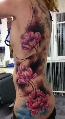 tattoo for women flowers